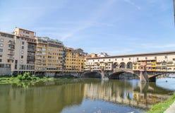 Ponte Vecchio en Florencia, Italia Foto de archivo