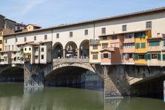 Ponte Vecchio en Florencia, Italia Fotografía de archivo libre de regalías