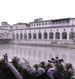 Ponte Vecchio Firenze Fotografering för Bildbyråer