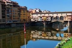 Ponte Vecchio a Firenze Immagine Stock Libera da Diritti