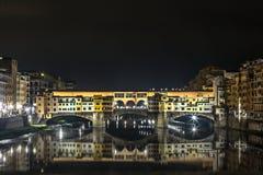 Ponte Vecchio, Firenze Fotografia Stock Libera da Diritti