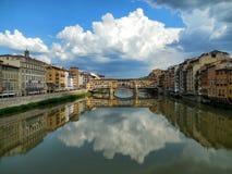 Ponte Vecchio a Firenze immagine stock