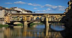 Ponte Vecchio, Firenze Fotografie Stock Libere da Diritti