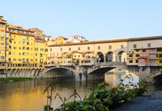 Ponte Vecchio Firenze estate Stock Photography