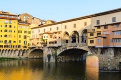 Ponte Vecchio Firenze estate Royalty Free Stock Image