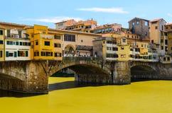 Ponte Vecchio Firenze estate Royalty Free Stock Images