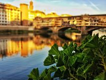 Ponte vecchio in Firenze Royalty Free Stock Photography