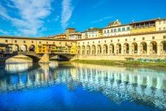 Ponte Vecchio, Firenze, Italia Fotografia Stock