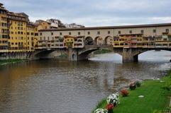 Ponte Vecchio, Firenze, Italia Fotografia Stock Libera da Diritti