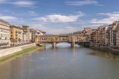 Ponte Vecchio a Firenze, Italia Fotografie Stock