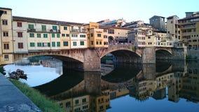Ponte Vecchio Firenze, Italia Stock Image