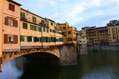 Ponte Vecchio in Firenze, Italy Stock Image