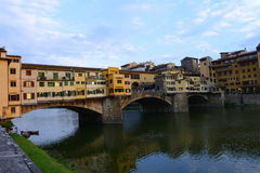 Ponte Vecchio in Firenze, Italy Royalty Free Stock Image