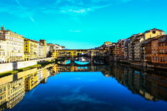 Ponte vecchio. Firenze. Royalty Free Stock Images