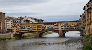 Ponte Vecchio in Florance, Italy royalty free stock photography