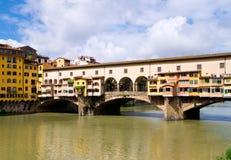 Ponte Vecchio, Florença Fotos de Stock Royalty Free