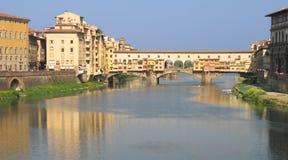 Ponte Vecchio, Florença Imagem de Stock