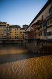 Ponte Vecchio, Florença Fotografia de Stock