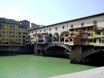 Ponte Vecchio, Florença, Itália imagem de stock