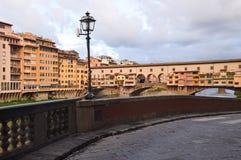 Ponte Vecchio in Florence royalty-vrije stock afbeelding
