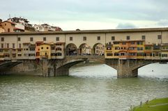 Ponte Vecchio, Florence, Royalty Free Stock Photo