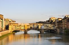 The Ponte Vecchio in Florence Stock Photography