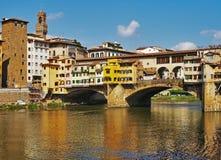 Ponte Vecchio Florence. View of the Ponte Vecchio, Florence, Italy Royalty Free Stock Photos