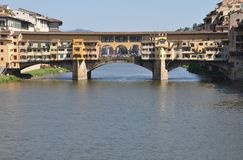 Ponte Vecchio in Florence Stock Photos
