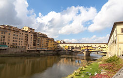The Ponte Vecchio,Florence Stock Image