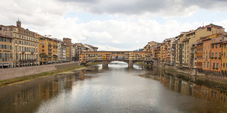 The Ponte Vecchio,Florence Stock Photos