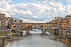 The Ponte Vecchio,Florence Royalty Free Stock Images