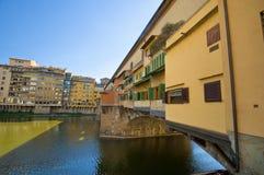 Ponte Vecchio. Florence Royalty-vrije Stock Foto's