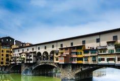 Ponte Vecchio in Florence Royalty-vrije Stock Afbeeldingen