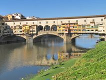Ponte Vecchio Florence Stock Photo
