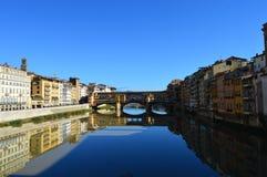 Ponte Vecchio, Florence Royalty-vrije Stock Foto's