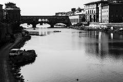 Ponte Vecchio in Florence Royalty-vrije Stock Fotografie