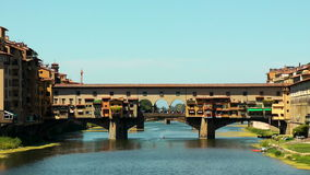 Ponte Vecchio stock video footage