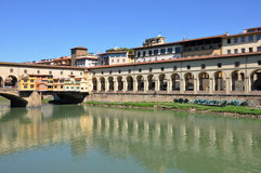 Ponte Vecchio in Florence Royalty Free Stock Photos