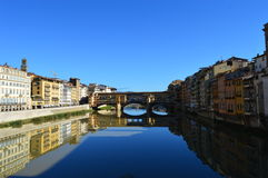 Ponte Vecchio, Florence. Bridge over the Arno river, Florence, Firenze, Italy royalty free stock photos