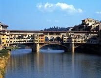 Ponte Vecchio, Florence, Italië. stock fotografie