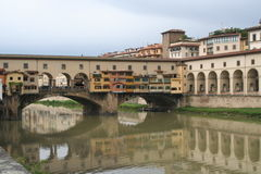 Ponte Vecchio in Florence, Italië Royalty-vrije Stock Fotografie