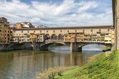 Ponte Vecchio in Florence, Italië stock fotografie