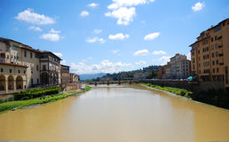Ponte Vecchio, Florence, Italië Royalty-vrije Stock Fotografie
