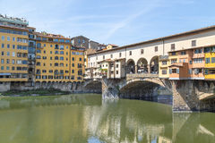 Ponte Vecchio in Florence, Italië Royalty-vrije Stock Foto