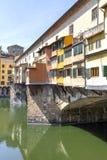 Ponte Vecchio in Florence, Italië Royalty-vrije Stock Afbeeldingen