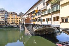 Ponte Vecchio in Florence, Italië Royalty-vrije Stock Foto's
