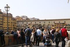Ponte Vecchio, Florence, Italië Royalty-vrije Stock Afbeelding