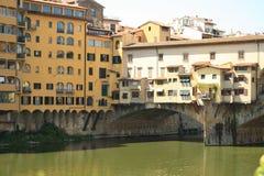 Ponte Vecchio in Florence, Italië, Oude Brug stock fotografie