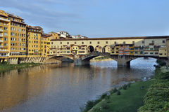 Ponte Vecchio - Florence - Italië Stock Foto