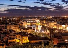 Ponte Vecchio Florence Italie Images libres de droits
